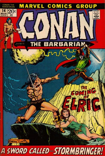 Cover for Conan the Barbarian (Marvel, 1970 series) #14 [British Price Variant]