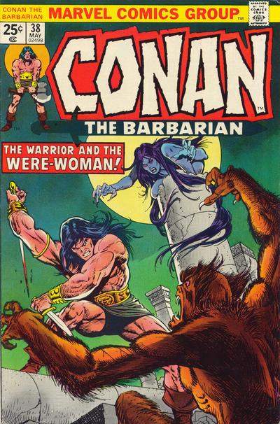 Cover for Conan the Barbarian (1970 series) #38