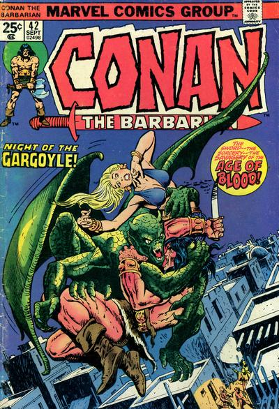 Cover for Conan the Barbarian (Marvel, 1970 series) #42