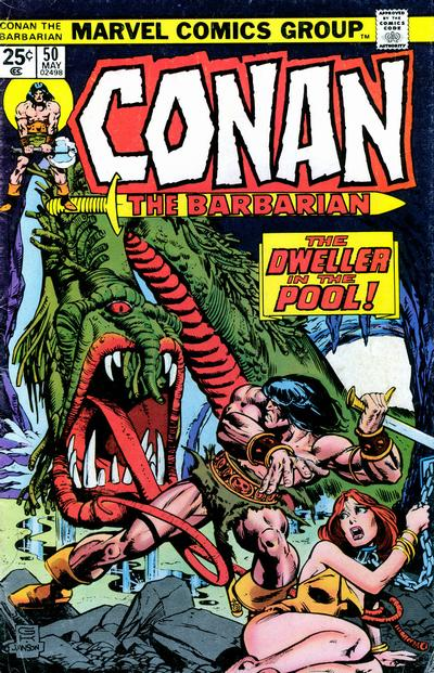 Cover for Conan the Barbarian (Marvel, 1970 series) #50