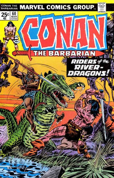 Cover for Conan the Barbarian (Marvel, 1970 series) #60 [Regular Edition]