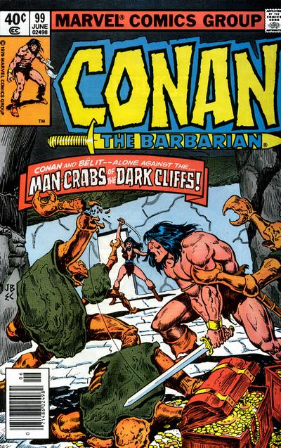 Cover for Conan the Barbarian (1970 series) #99