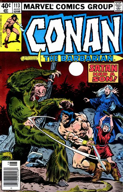 Cover for Conan the Barbarian (1970 series) #113