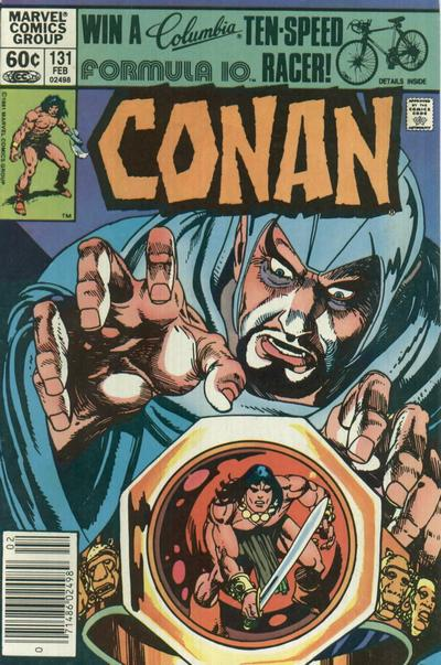 Cover for Conan the Barbarian (Marvel, 1970 series) #131 [Direct Edition]