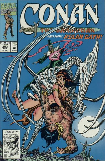 Cover for Conan the Barbarian (1970 series) #253