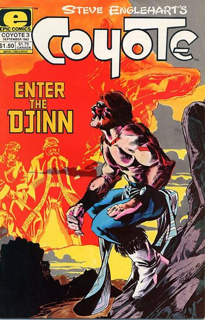 Cover for Coyote (Marvel, 1983 series) #3