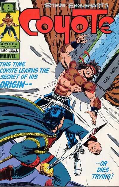 Cover for Coyote (Marvel, 1983 series) #4