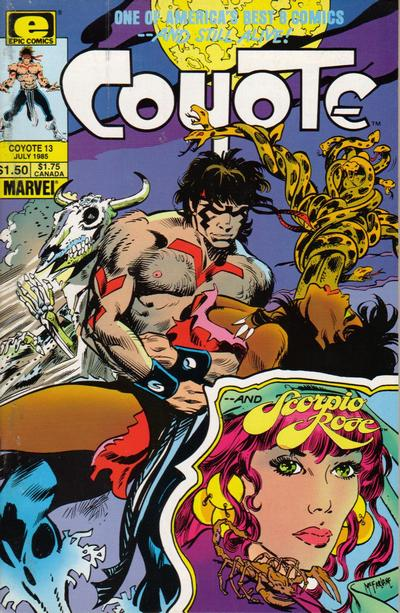 Cover for Coyote (Marvel, 1983 series) #13
