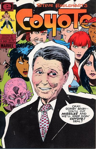 Cover for Coyote (Marvel, 1983 series) #16