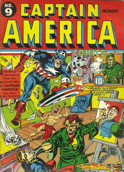 Cover for Captain America Comics (Marvel, 1941 series) #9