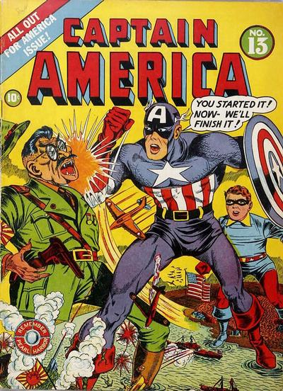 Cover for Captain America Comics (Marvel, 1941 series) #13
