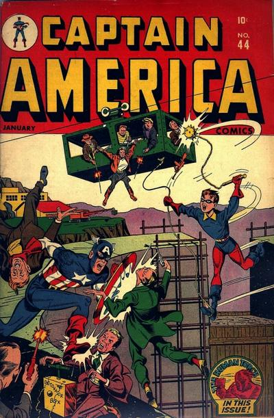 Cover for Captain America Comics (Marvel, 1941 series) #44
