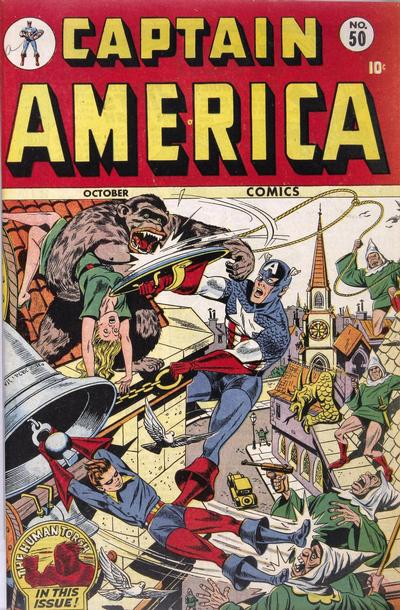 Cover for Captain America Comics (Marvel, 1941 series) #50