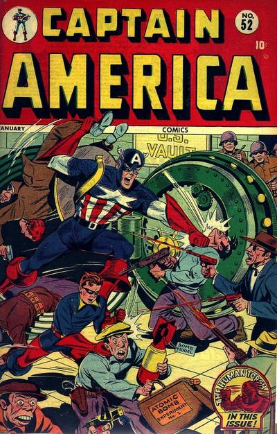 Cover for Captain America Comics (Marvel, 1941 series) #52