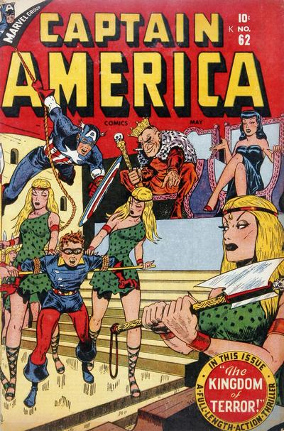 Cover for Captain America Comics (Marvel, 1941 series) #62