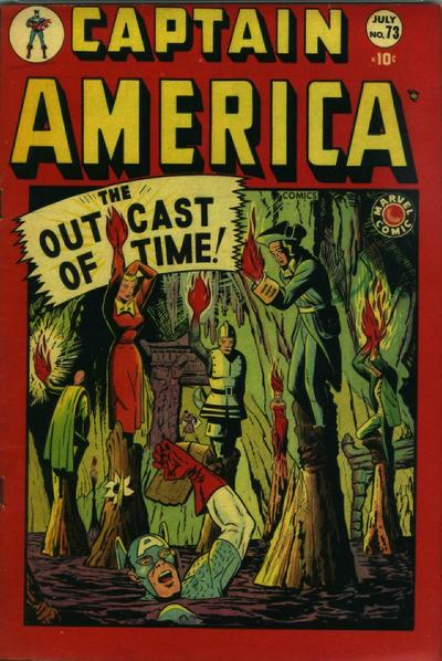 Cover for Captain America Comics (Marvel, 1941 series) #73