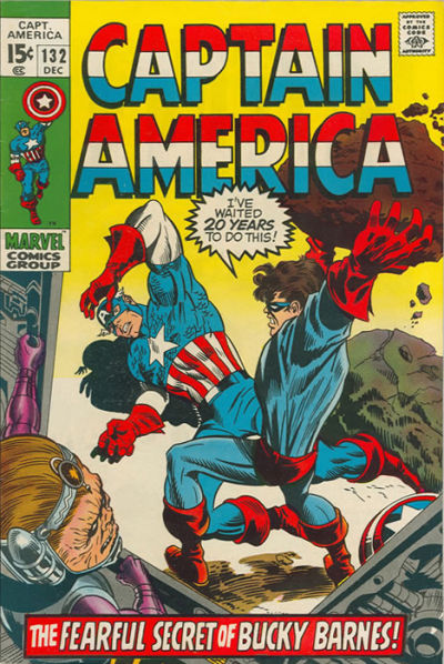 Cover for Captain America (1968 series) #132