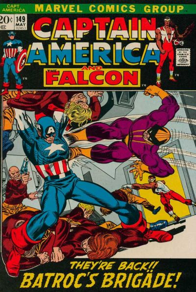 Cover for Captain America (Marvel, 1968 series) #149