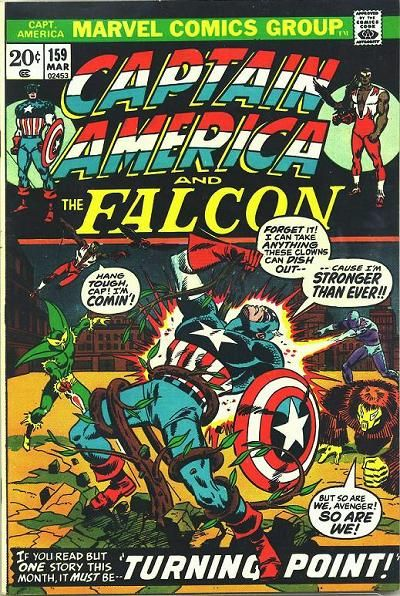 Cover for Captain America (Marvel, 1968 series) #159 [Regular Edition]