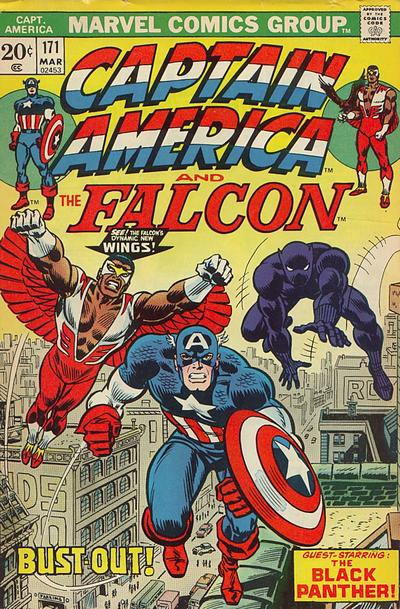 Cover for Captain America (Marvel, 1968 series) #171 [Regular Edition]