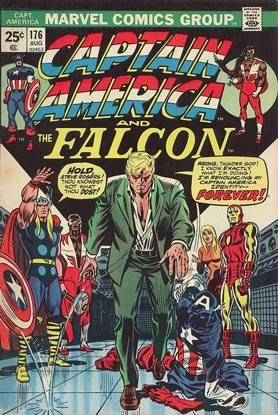 Cover for Captain America (1968 series) #176