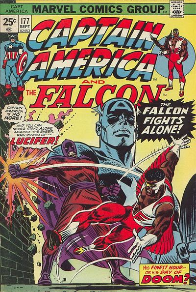 Cover for Captain America (1968 series) #177