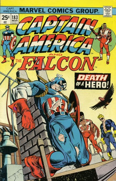 Cover for Captain America (Marvel, 1968 series) #183 [Regular Edition]