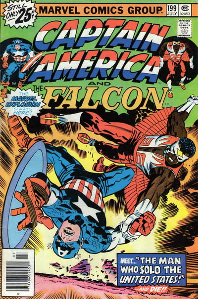 Cover for Captain America (1968 series) #199 [25c price variant]