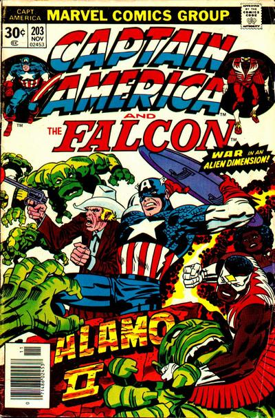 Cover for Captain America (1968 series) #203
