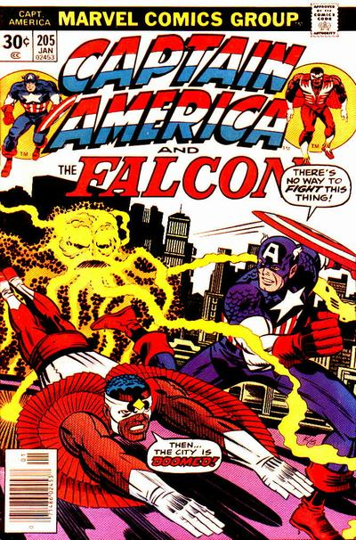 Cover for Captain America (Marvel, 1968 series) #205 [Regular Edition]