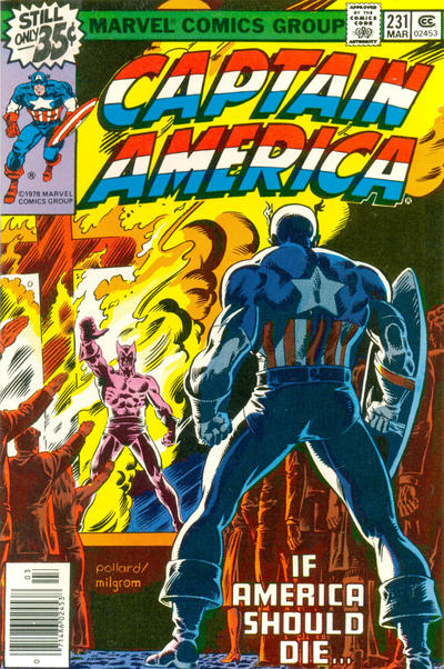 Cover for Captain America (1968 series) #231