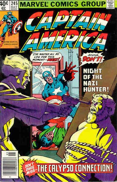 Cover for Captain America (Marvel, 1968 series) #245 [Newsstand Edition]