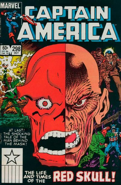Cover for Captain America (1968 series) #298