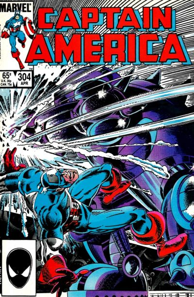 Cover for Captain America (1968 series) #304