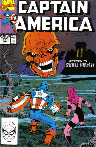 Cover for Captain America (Marvel, 1968 series) #370 [Direct Edition]
