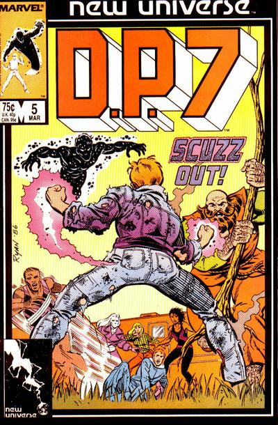 Cover for D.P. 7 (Marvel, 1986 series) #5