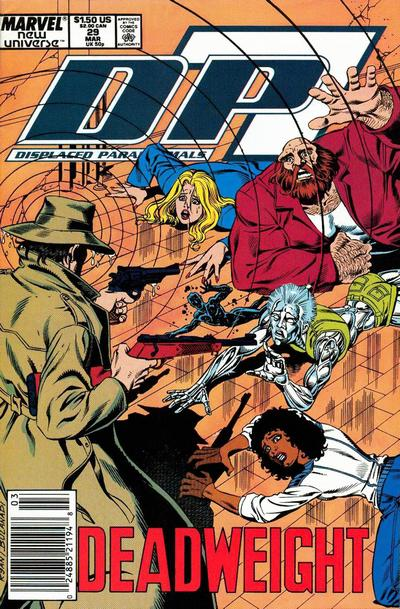 Cover for D.P. 7 (Marvel, 1986 series) #29