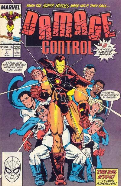 Cover for Damage Control (1989 series) #3