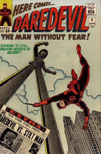 Cover for Daredevil (1964 series) #8