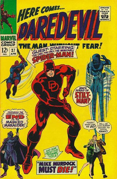 Cover for Daredevil (Marvel, 1964 series) #27 [Regular Edition]