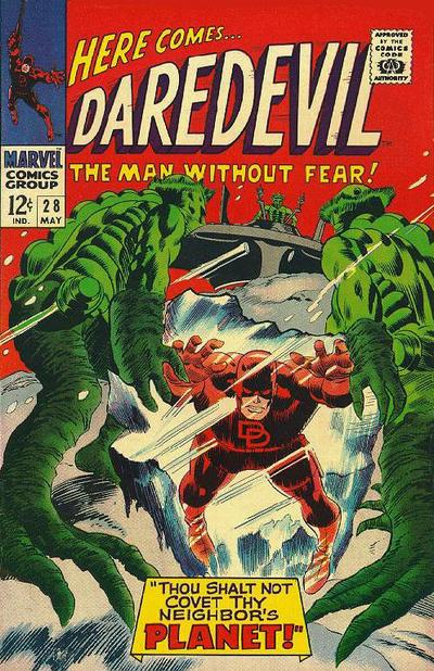 Cover for Daredevil (Marvel, 1964 series) #28 [Regular Edition]