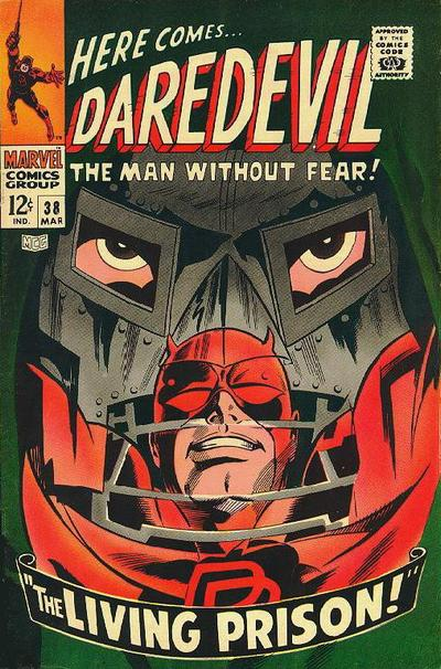Cover for Daredevil (Marvel, 1964 series) #38