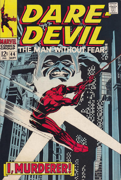 Cover for Daredevil (Marvel, 1964 series) #44