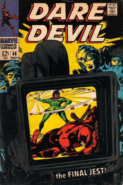 Cover for Daredevil (Marvel, 1964 series) #46