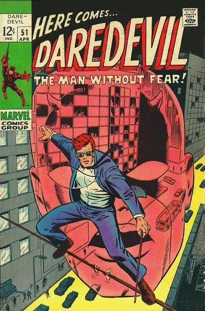 Cover for Daredevil (1964 series) #51