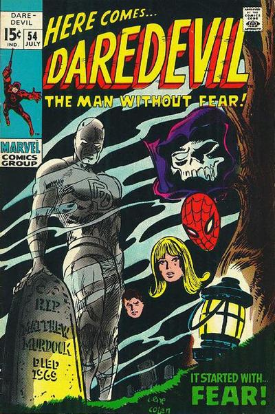 Cover for Daredevil (1964 series) #54