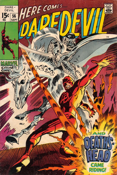 Cover for Daredevil (Marvel, 1964 series) #56 [Regular Edition]