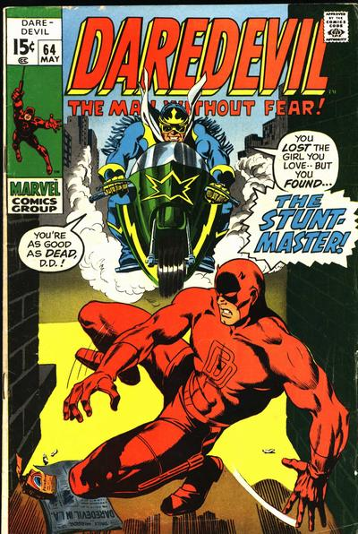 Cover for Daredevil (1964 series) #64