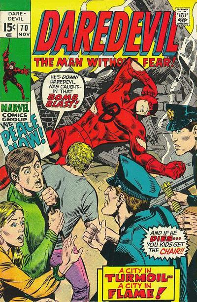 Cover for Daredevil (Marvel, 1964 series) #70 [Regular Edition]
