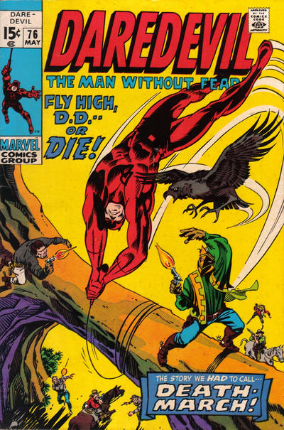 Cover for Daredevil (Marvel, 1964 series) #76